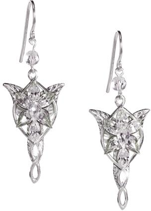 Evenstar earrings - Silver