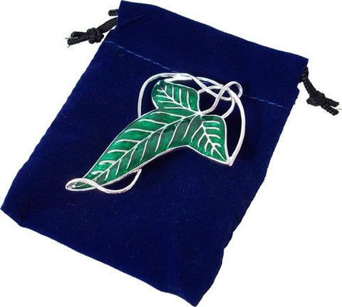 Elven leaf brooch (costume)