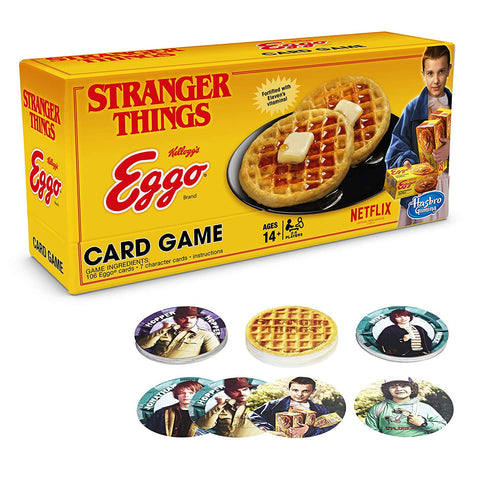 Stranger Things Eggo card