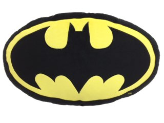 Batman oval cushion