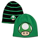 1up beanie reversible