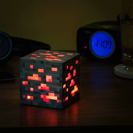 SALE Minecraft red ore light