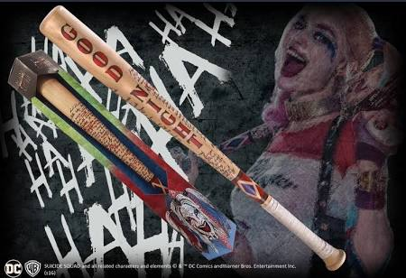 Harley Quinn replica bat