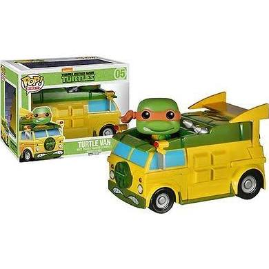 TMNT turtle van pop ride