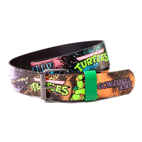 TMNT graffiti belt M