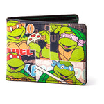 TMNT comic strip wallet