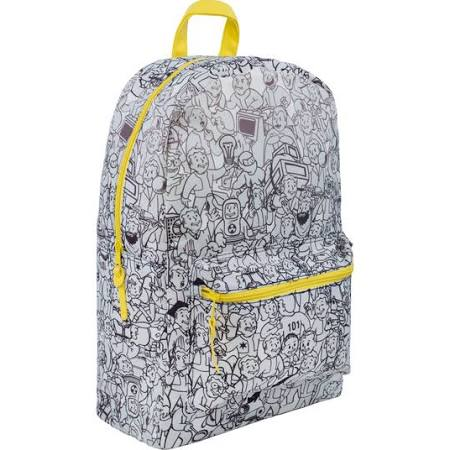 Fallout print backpack