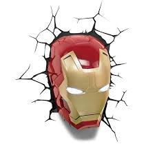 SALE Iron man LED 3D mask light