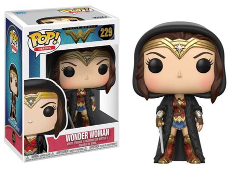 Wonder Woman w/cloak std pop
