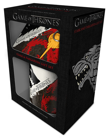 GOT Stark and Targaryen gift set