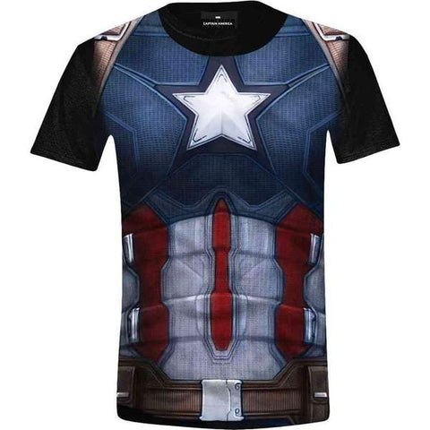 Captain America T shirt XXL