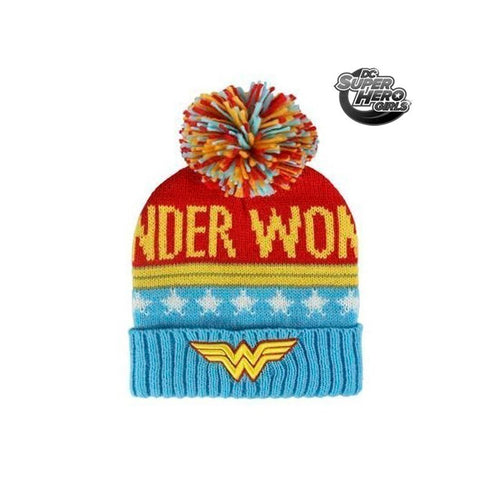 DC Comics Wonder Woman knitted beanie