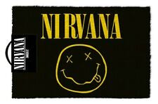 Nirvana Smiley Doormat
