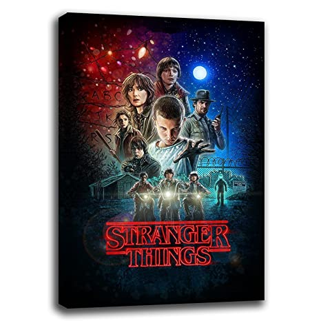 Stranger Things series one canvas