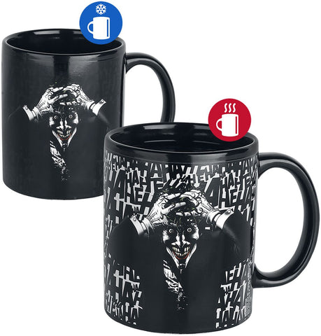 The Joker Killing joke heat change mug