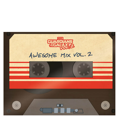 GOTGV2 Awesome Mix canvas
