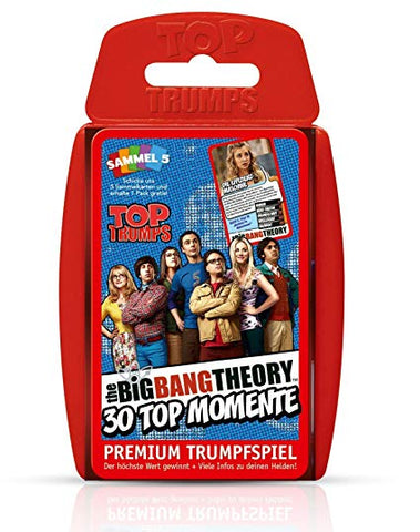 Big Bang Theory Top Trumps