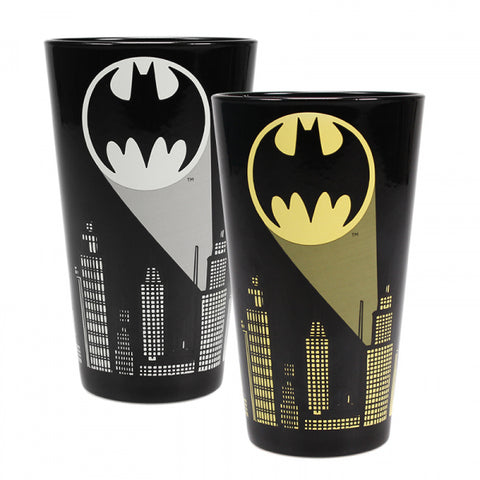 Batman Bat signal cold change glass