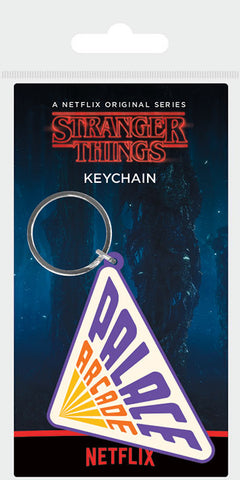 ST Palace Arcade Rubber Keychain