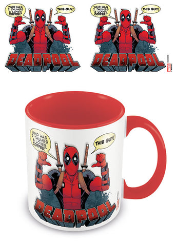 Deadpool 2 thumbs mug