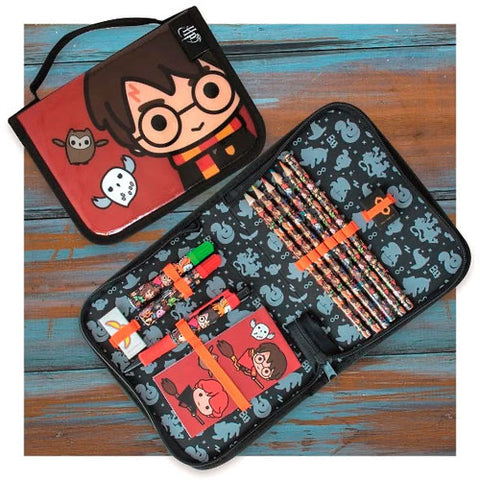 HP Kawaii filled pencil case
