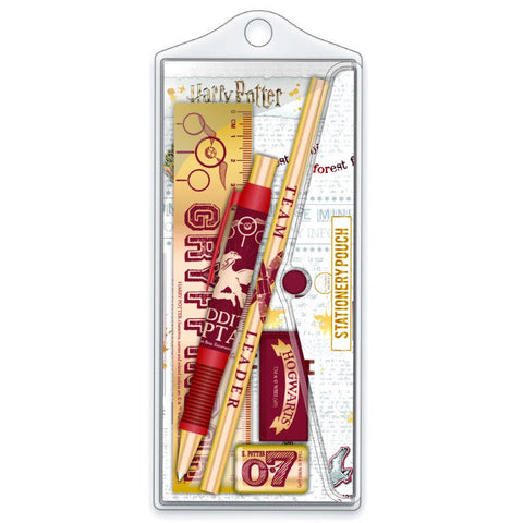Harry Potter Quidditch stationery set