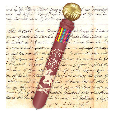 Harry Potter Snitch multicolour pen