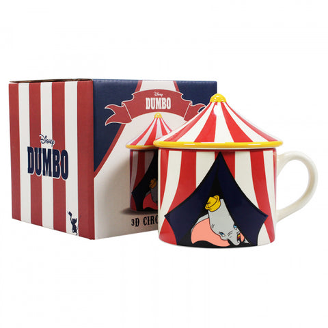 Dumbo Circus Shaped Boxed Mug