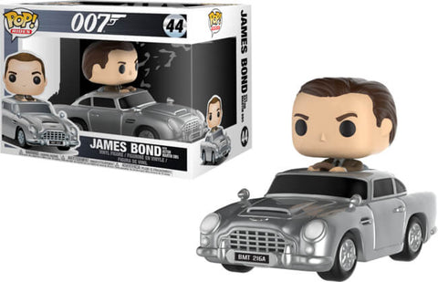 007 James Bond w/Aston Martin DB5