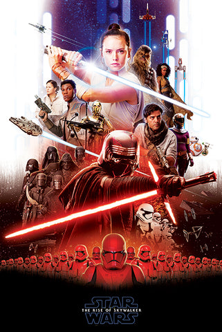 Star Wars Skywalker Epic poster SW2