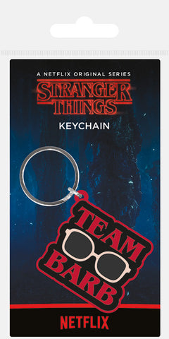ST Team Barb Rubber Keychain