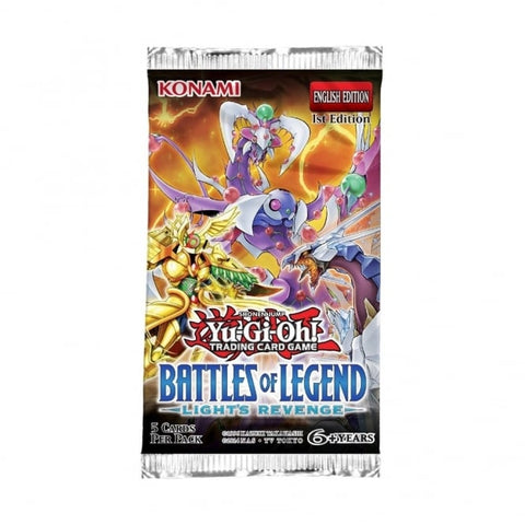 Yu-Gi-Oh Battles of Legends boosters