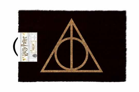 Deathly hallows doormat