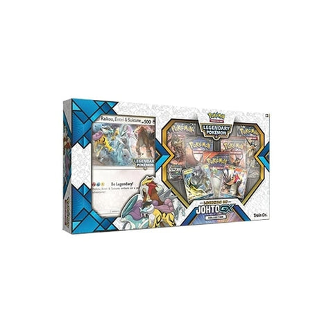 Pokemon Legends Johto GX box