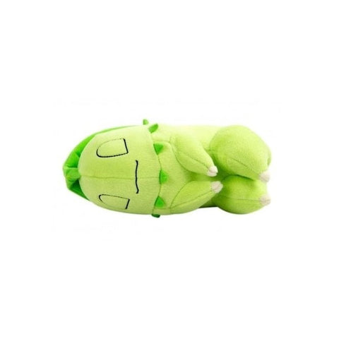 Pokemon boxed sleeping Chikorita plush