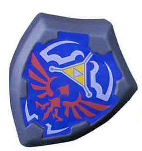 Zelda shield stress ball