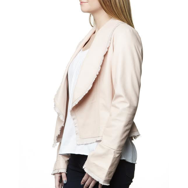 Camille Suede Jacket in Rose/Sarah Stewart
