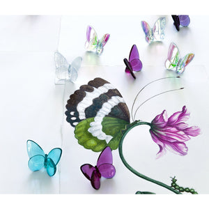 Papillon Lucky Butterfly in Peony/Baccarat