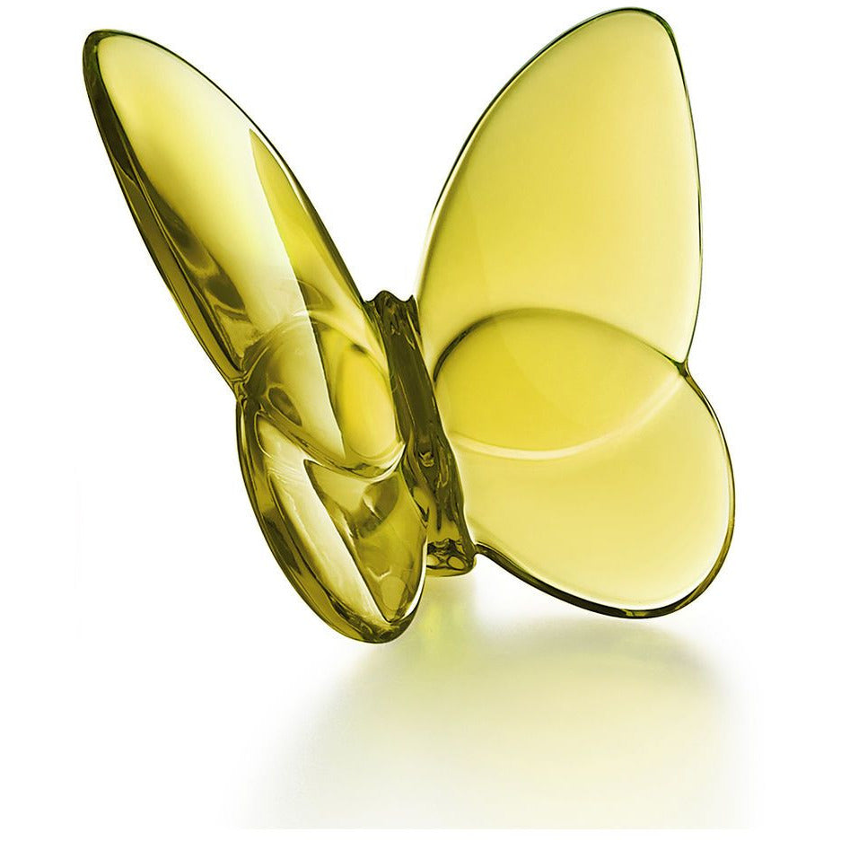 Papillon Lucky Butterfly in Amber/Baccarat