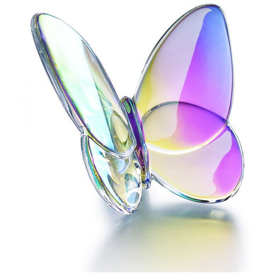 Papillon Lucky Butterfly in Iridescent Clear/Baccarat