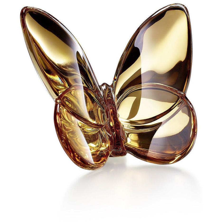 Papillon Lucky Butterfly in Gold/Baccarat