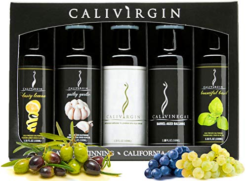 Calivirgin Olive Oil & Balsamic Vinegar Gift Set