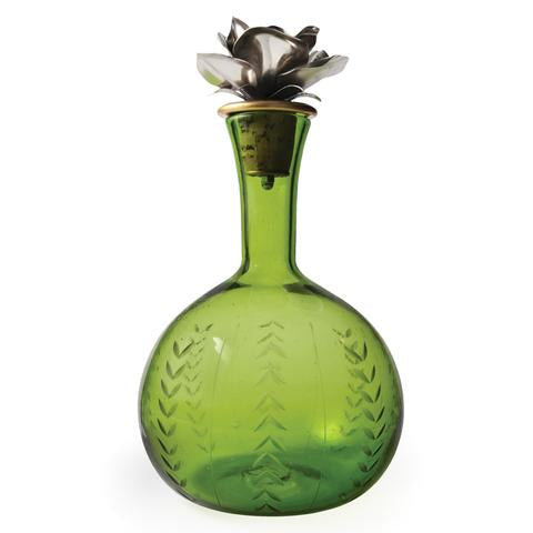 Guadalupe Decanter, Green/Jan Barboglio