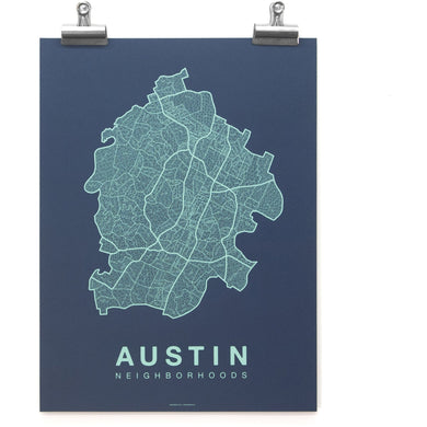 Austin Native Map/Native Maps