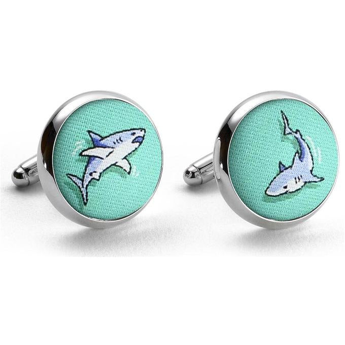 Shark Week Cufflinks/Bird Dog Bay