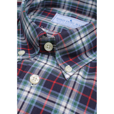 Cunningham Brushed Cotton Shirt/Bird Dog Bay
