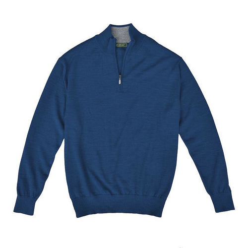 Royal Alpaca Sweater - Fathom/Bird Dog Bay