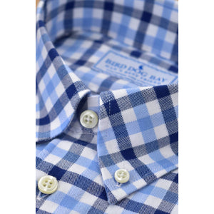 Halsted Brushed Cotton Shirt/Bird Dog Bay