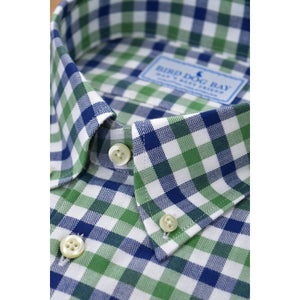 Linden Brushed Cotton Shirt/Bird Dog Bay