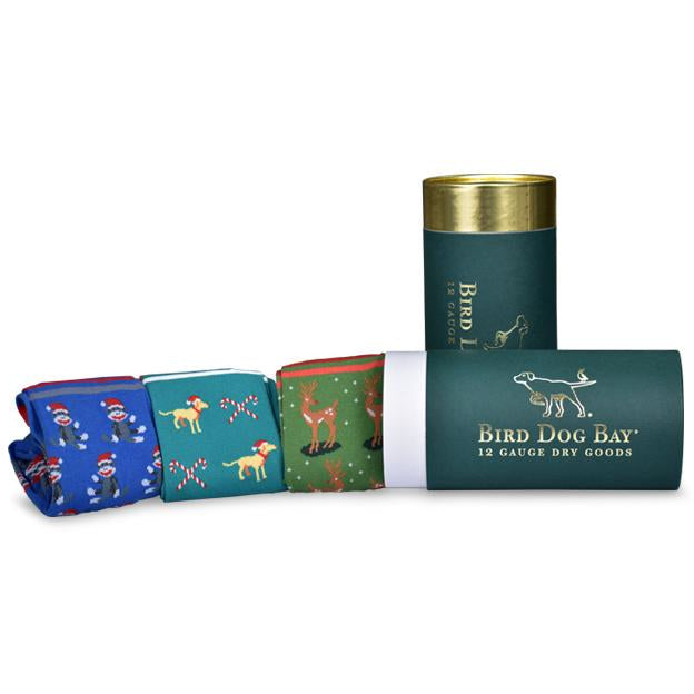 Christmas Carousers Sock Set/Bird Dog Bay